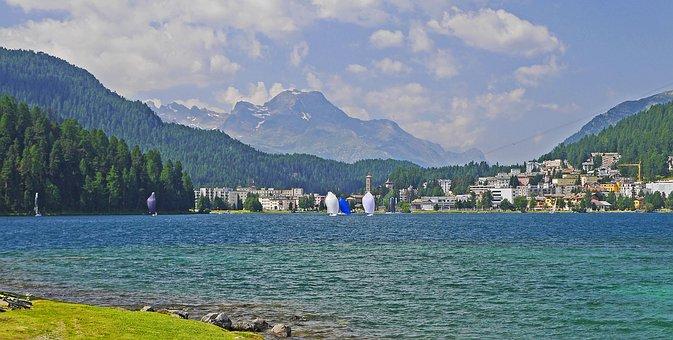 Lake St Moritz, Engadin, High Valley, Rhätikon
