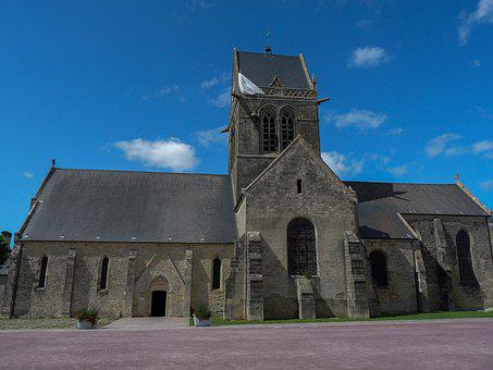 Normandy, Holy-mother-church, D Day, Paratrooper