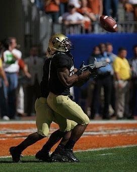American Football, Kick Return, Receiver, Ball Carrier