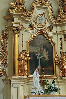 The Altar, Church, Mother Of God, Mary