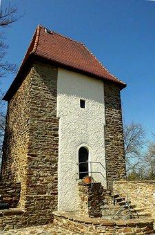 Freiberg, Mountain Town, City Wall, Stone, Stone Wall