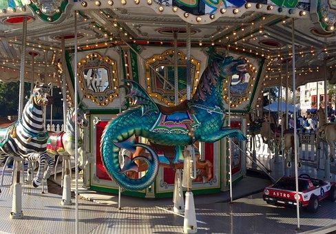 Fun, Park, Amusement, Ride, Happiness, Happy, Childhood