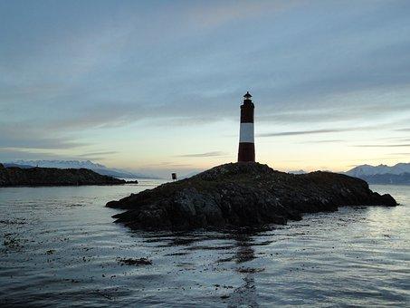 Lighthouse, Beagle Channel, Ushuaia, Patagonia