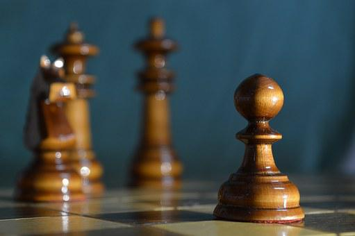 Chess, Royal, Knight, Black, White, Bishop, Pawn, Board