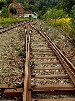 Soft, Track, Rails, Railway Rails, Rusted, Abandoned