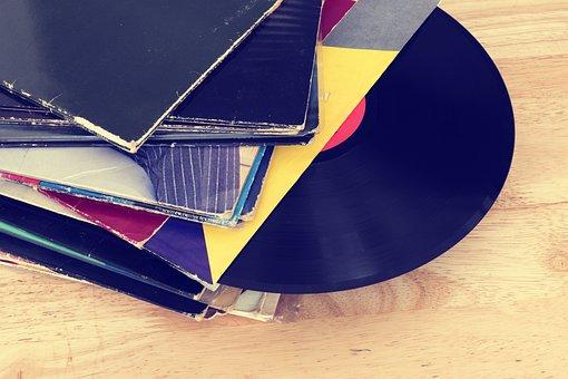 Records, Vinyl, Vinyl Record, Music, Retro, Sound, Old