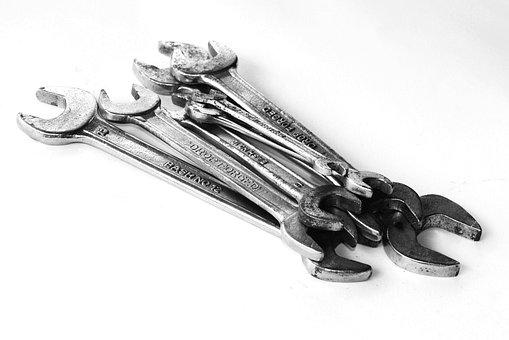 Tools, Set, Handyman, Hand, White, Repairman