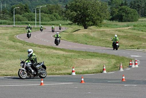 Motocycle, Great Holm, Risk Education, Training, Ride