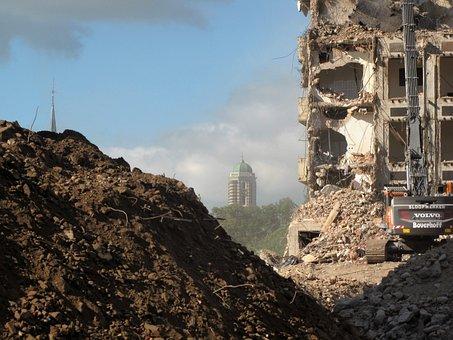 Mess, Demolition, Building Demolition, Planning, Ruin