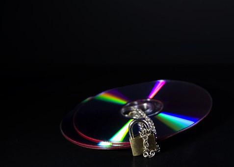 Secure, Data, Cd, Dvd, Colorful, Hole, Data Slice
