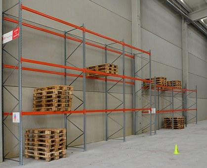 Shelves, Pallets, Palleting, Storage Operations