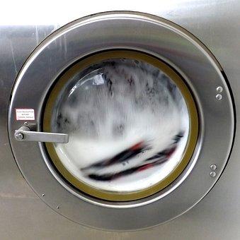 Laundromat, Washing Machine, Soap, Chores, Washer