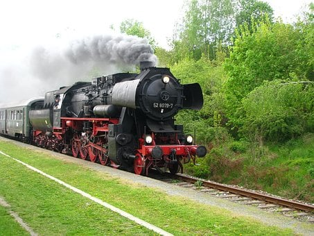Steam Locomotive, Baureihe 52, Br52