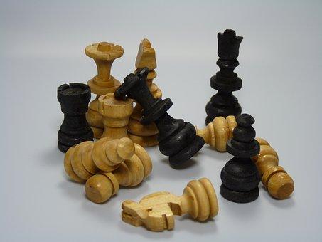 Chess, Strategy, Black, Board, Game, White, King, Pawn