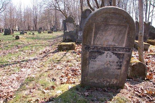 Cemetery, Szydłowiec, Jews, Monument, Tombstone
