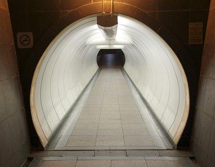 Tunnel, Walkway, Corridor, Way, Walk, Underground