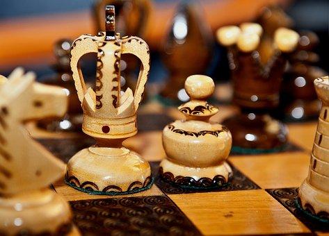 Chess, Wooden Chess, Chess Rzeżbione, Wooden Figures