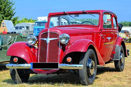 Auto, Oldtimer, Classic, Adler Trumpf Junior