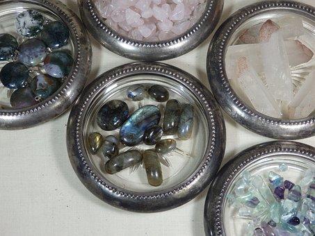 Labradorite, Crystals, Quartz, Agate, Fluorite