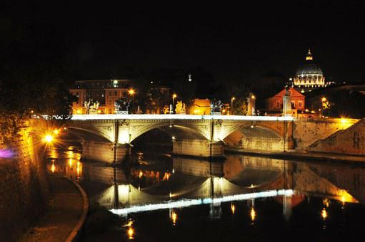 Rome, Tiber, San Pietro, Bridge