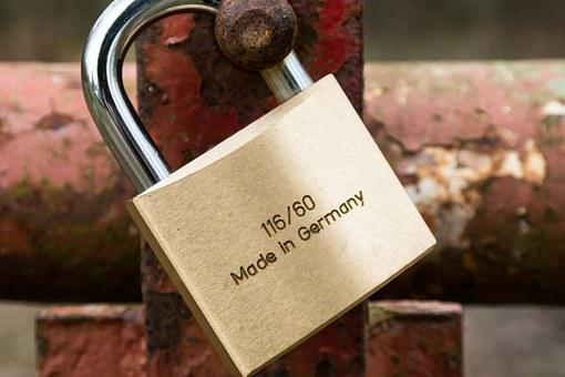 Castle, Padlock, Gold, Security, Metal, To, Secure