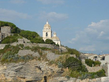 Porto Venere, Church Of San Pietro, Coast