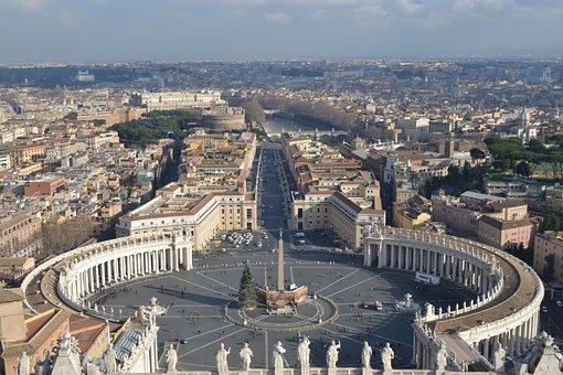 San Pietro, Roma, Vatican, City, Italy, Basilica