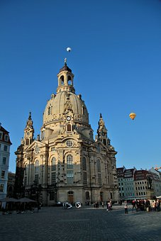 Building, Architecture, Urban, City, Hot Air Balloon