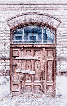 Door, Closed, Old, Wood, Wooden Door, Weathered, Boards