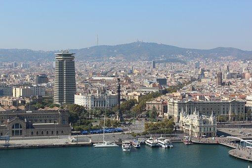 Barcelona, Las Ramblas, Port Barcelona, Columbus, City
