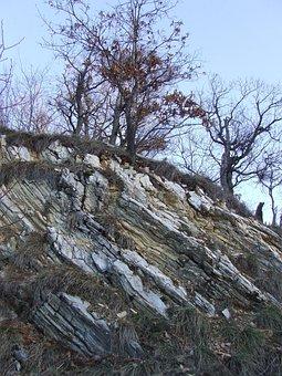 Beech Mountain, Creased Slate, Creased Rock, Sediment