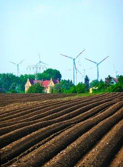 Agriculture, Farm, Farm Land, Crops, Earth, Ploughed