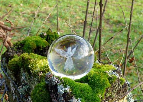 Angel, Glass Object, Decoration, Glass Bulb, Christmas