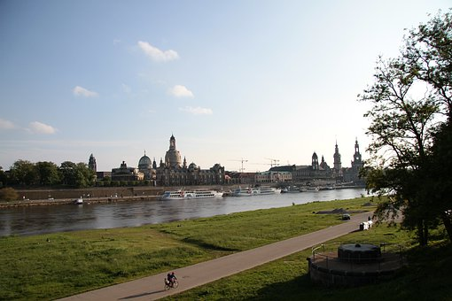 Dresden, City, Skyline, Frauenkirche, Semper Opera