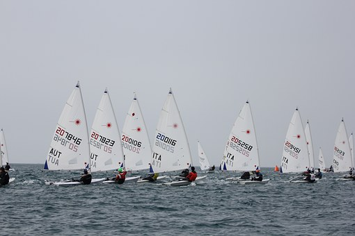 Sailing, Laser, Sea, Eurocup