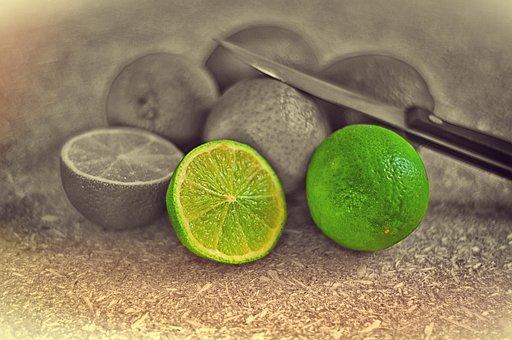 Lime, Citrus Fruit, Sour, Green, Lemons, Food, Vitamins