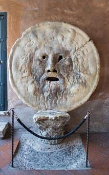 Mouth Of Truth, Rome, Italy, Showplace