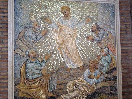 Mosaic, Jesus, San Pietro