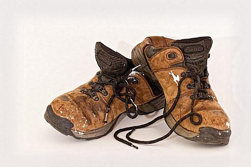 Old Shoes, Labourer, Footwear, Used, Worn, Labour
