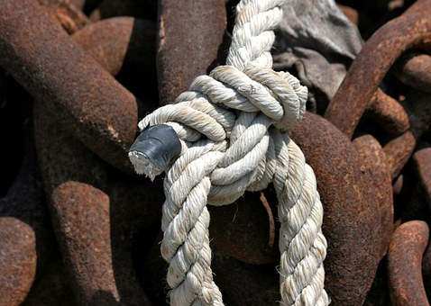 Chain, Stainless, Rusty, Metal, Links Of The Chain
