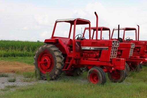 Tractors, Vehicles, Field, Vehicle, Equipment, Machine