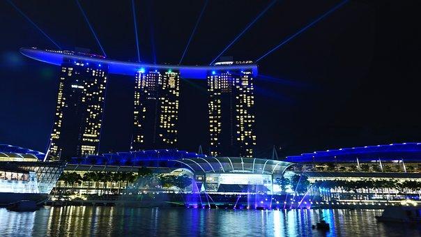Singapore, Marina Bay Sands, Singapore Landmark