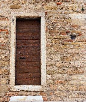 Input, Door, House Entrance, Old, Front Door, Old Door