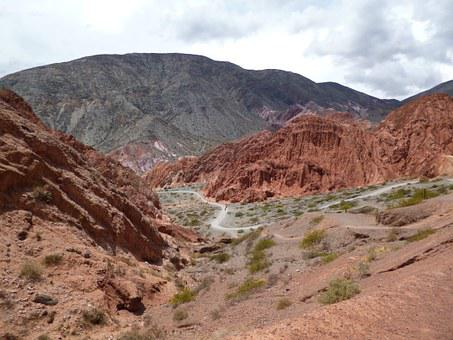 Cerro Colorado, Purmamarca, The Colorados Walk, Jujuy