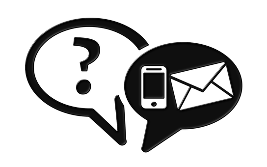 Communication, Dialogue, Query, Email, Balloon, Phone