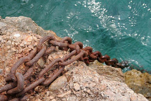 Chain, Old Rusted, Anchor Chain, Rusty, Chain Link