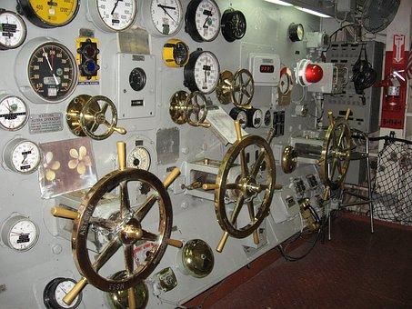 Aircraft, Carrier, Uss, Midway, Throttle, Panel, Ship