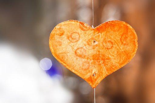 Valentine, Heart, Shine Through, Transparent, Shell