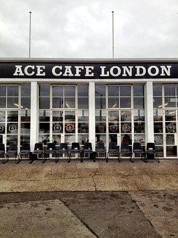 Ace Cafe, Cafe, Street, Famous, London, England, Ace