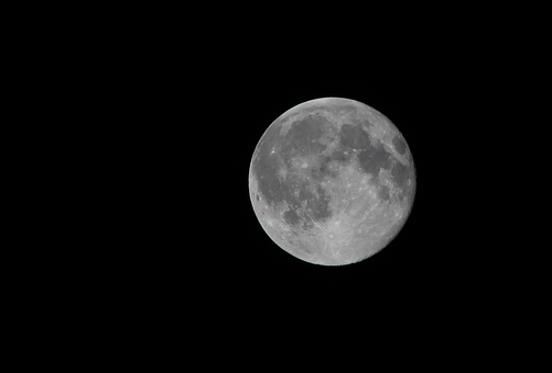 Moon, Close Up, Night, Sky, Astronomy, Lunar, Full
